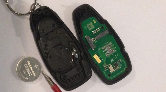 How To Replace A Car Remote Battery